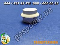 Кнопка ТУП белая для включения автоматики духовки газовой плиты Гефест, запчасти газовых плит Gefest Брест