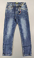 Джинсовые брюки для мальчиков S&D оптом, 4-12 лет. Артикул: DT1083, фото 1