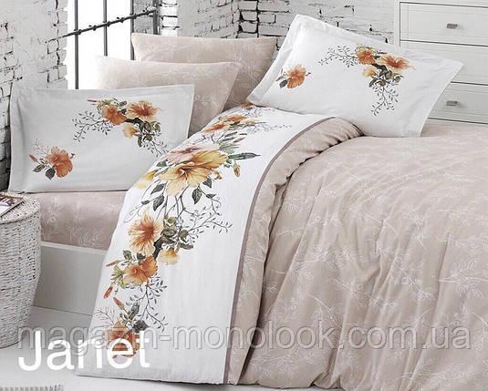 Комплект постельного  белья  First choice Deluxe Ranforce Janet, фото 2