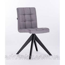 Кресло HROVE FORM HR7009 серое ткань на 4-х ножках