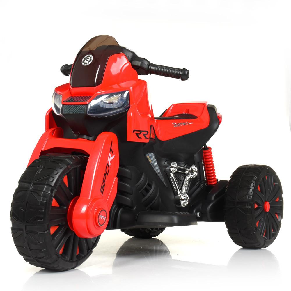 Детский мотоцикл-трицикл Bambi M 4193EBL-3 красный