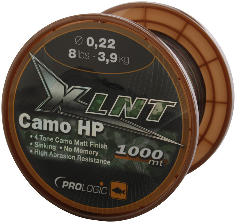 Леска Prologic XLNT HP 1000m 24lbs 11.0kg 0.40mm Camo
