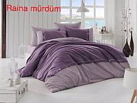 Комплект постельного  белья  First choice Deluxe Ranforce Raina murdum