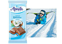 Вкусный и нежный шоколад Альпинелла со вкусом кокоса