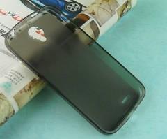 Силиконовый чехол для Asus Zenfone 6 черный прозрачный