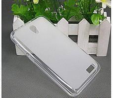 Силиконовый чехол для Asus Zenfone 6 белый прозрачный