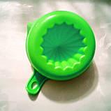 Соковыжималка цитрусовых ручная зеленая 200 мл, фото 3