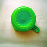 Соковыжималка цитрусовых ручная зеленая 200 мл, фото 4