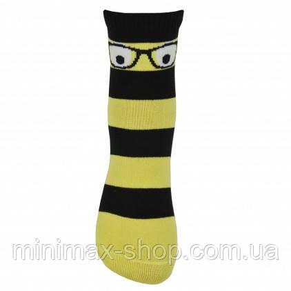 Носки детские Легка Хода 9226, черный-желтый, р.14-16