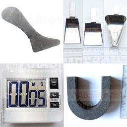 Другое оборудование для зерновой лаборатории: таймер, совочек, термоштанга, магнит, аэратор