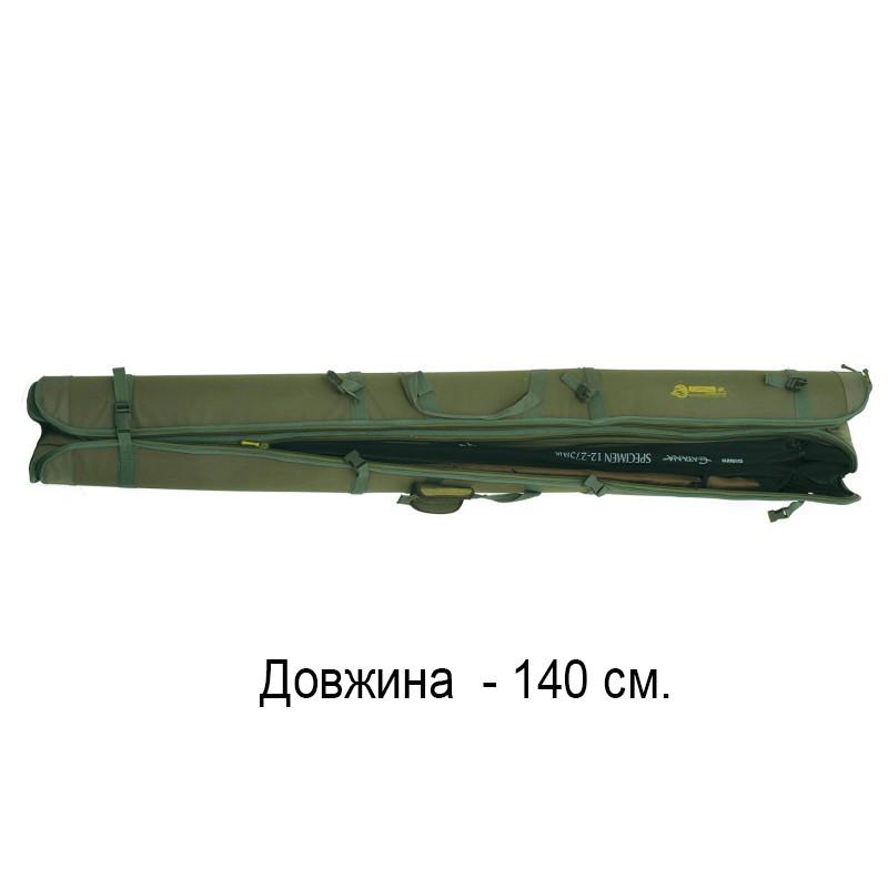 Чехол для удочек и спиннингов жесткий КВ-12 Acropolis