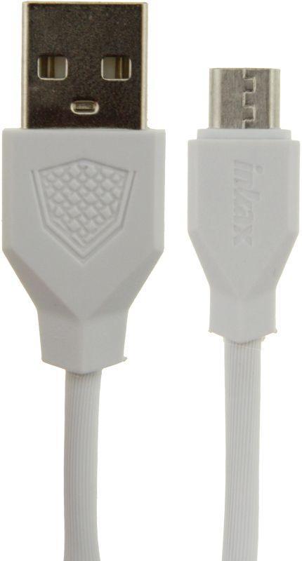 Кабель USB Inkax CK-18m micro-usb, Білий, 100 см