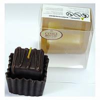 Свеча Пирожное арома - шоколад