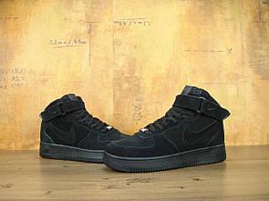 Мужские Кроссовки Nike Air Force 1 Hight Black 44