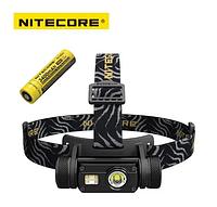 Фонарь налобный Nitecore HC65 1000LM + Батарея! Оригинал! Фонарик