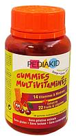 Pediakid Мультивитаминные жевательные конфеты 60 ластиков