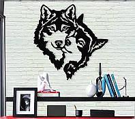 """Картина """"Волк и волчица"""" изготовление картин"""