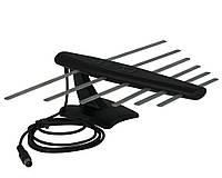 Цифровая комнатная телевизионная антенна LOGO-12K с усилителем для тюнеров Т2