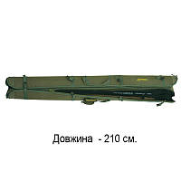 Чехол для удочек и спиннингов жесткий КВ-12в Acropolis, фото 1