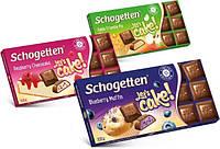 История продукции шоколада Schogetten
