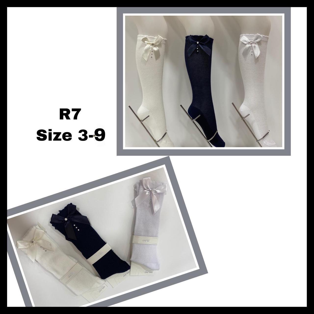 Детские демисезонные носочки для девочек  ( мин. заказ 6 шт.в уп.) 3-4 лет