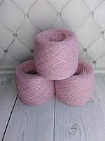Пряжа белорусская (Слонимская полушерсть). Оттенок М. Розовая дымка