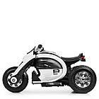 Детский мотоцикл Bамві на надувных колесах M 4134A-1 белый, фото 4