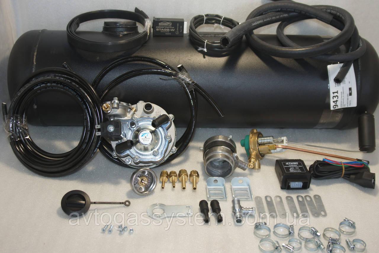 Комплект ГБО 2 поколения Tomasetto инжектор + 30л.(под бампер)