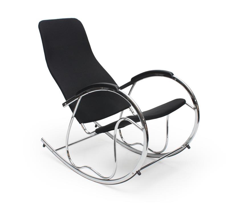 Кресло- качалка BEN 2 черный (Halmar)