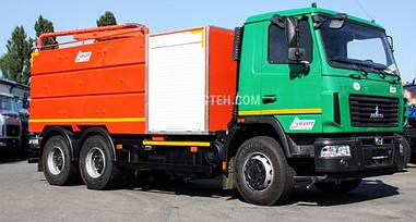 Машина каналопромивочна на базі МАЗ-6312