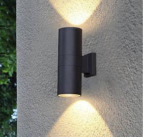 Фасадные светильники архитектурные настенные