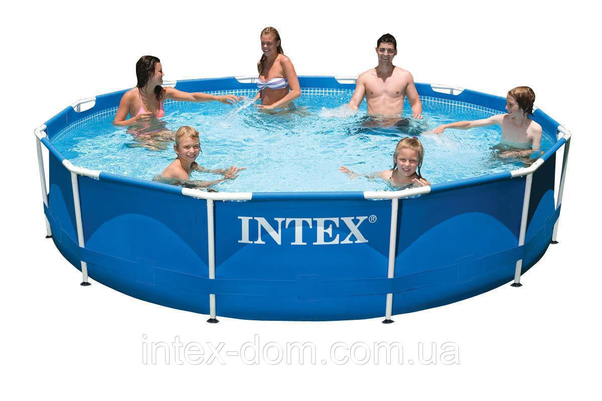 Каркасный бассейн Intex 28210 (366x76 см)