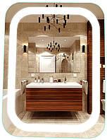 Зеркало с LED подсветкой 60х80 см