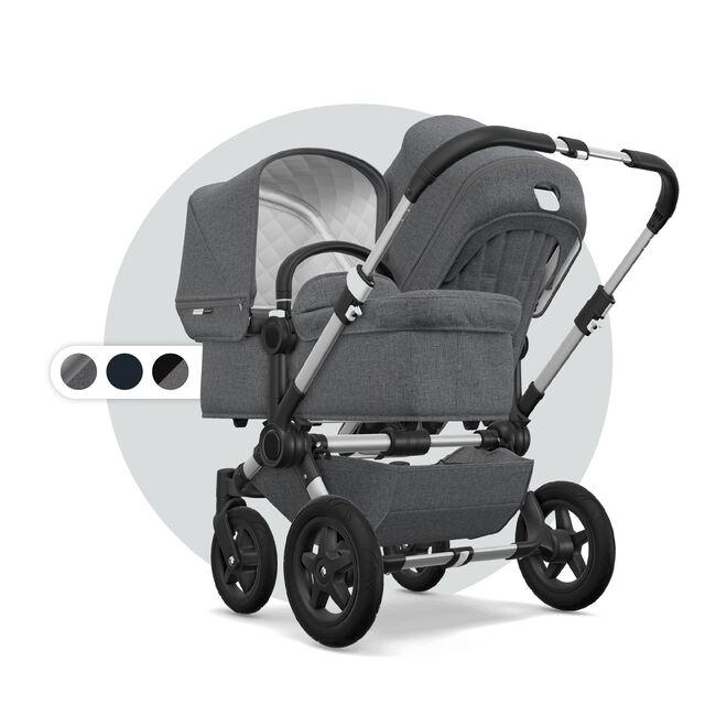 Коляска для двойни 2 в 1 Bugaboo Donkey 2 Classic Collection