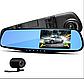 Відеореєстратор vehicle blackbox dvr - Дзеркало для автомобіля з двома камерами, фото 6