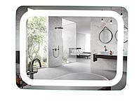 Дзеркало з LED підсвічуванням 100х80, фото 1