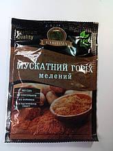 Мускатній орех молотый, 20г. L'ОПТИМА / мускатний горіх мелений СПЕЦИИ