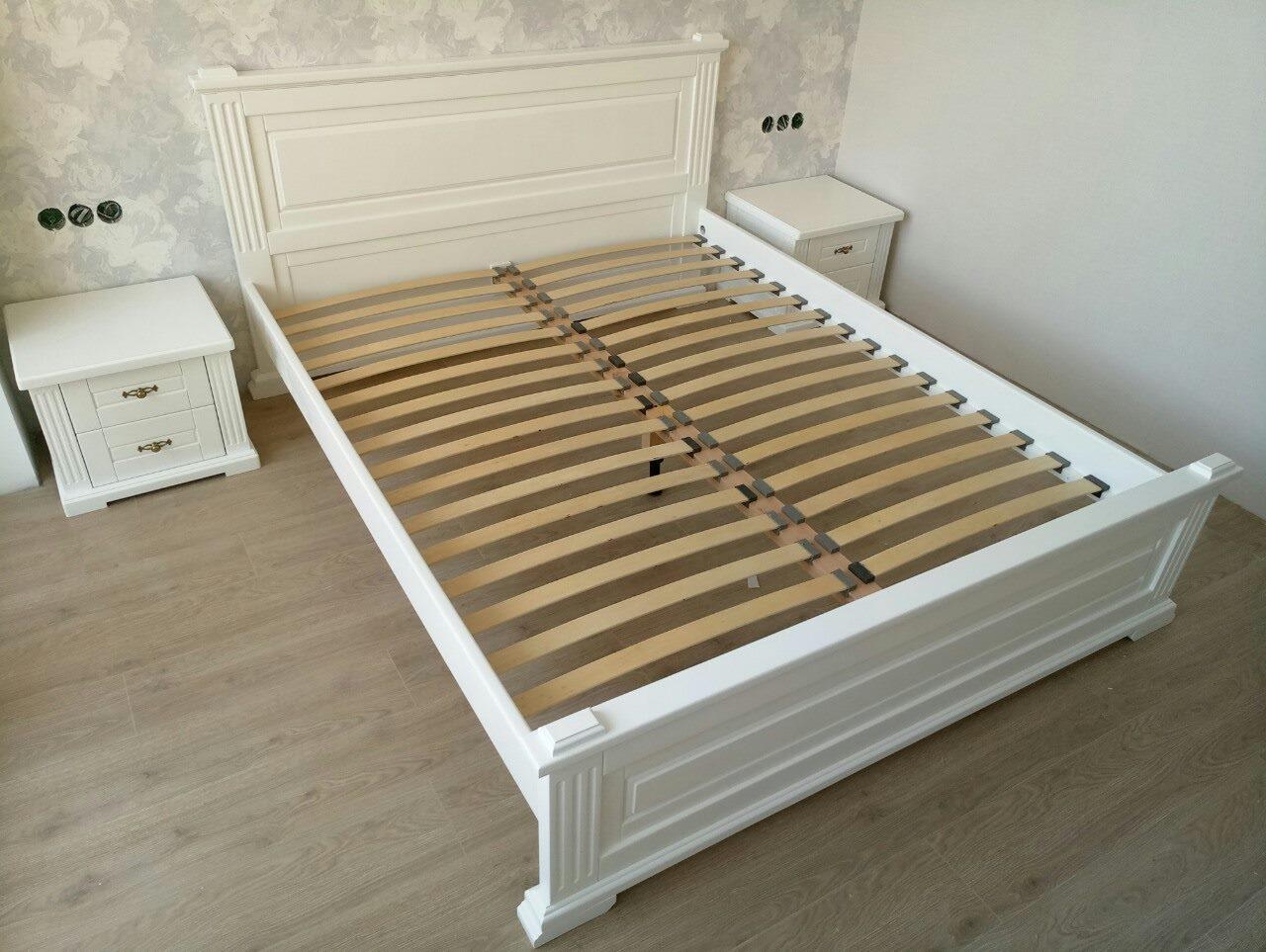 """Кровать 180*200 двуспальная """"Прайм"""" деревянная"""