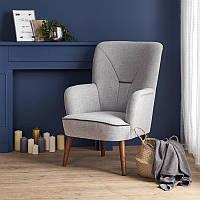 Крісло BISHOP світло сірий (Halmar)