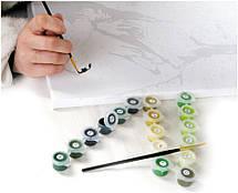 Набор для рисования  по номерам пионы и вишни , фото 2
