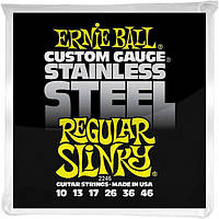 Струны Ernie Ball 2246 Custom Gauge Stainless Steel 10-46