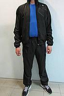 Мужской спортивный костюм  Adidas (41334) черный  код 303б