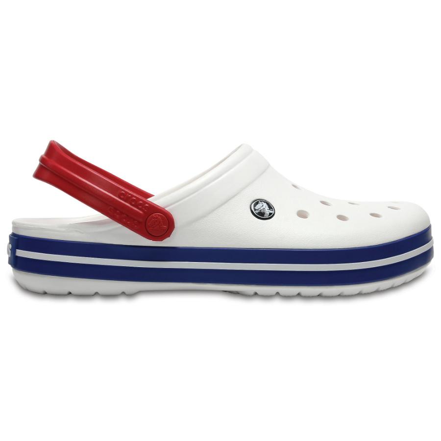 Crocs Crocband White/Blue