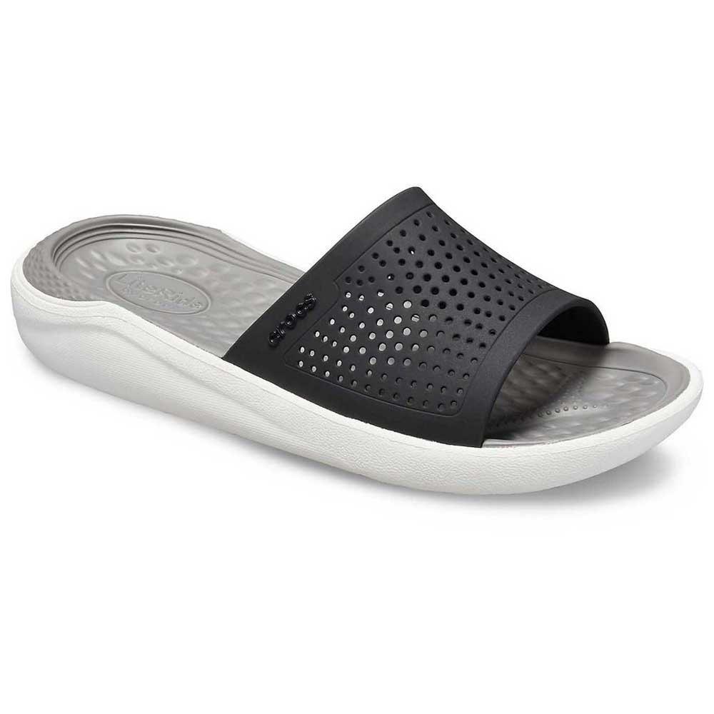 Crocs LiteRide Slide Black/Grey