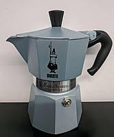 Гейзерная кофеварка Bialetti Moka Green (3 чашки - 170 мл), фото 1