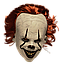 """Латексная маска Клоуна  Пеннивайз """"Оно"""" (IT) Стивена Кинга, фото 2"""