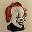 """Латексная маска Клоуна  Пеннивайз """"Оно"""" (IT) Стивена Кинга, фото 7"""