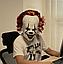 """Латексная маска Клоуна  Пеннивайз """"Оно"""" (IT) Стивена Кинга, фото 8"""