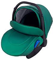 Детское автокресло Adamex Kite Y216 зеленый перламутр, фото 1