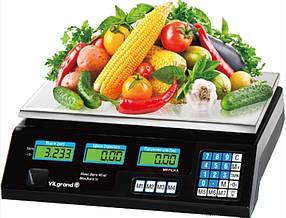 Весы торговые 40кг Vilgrand VES-6V-40